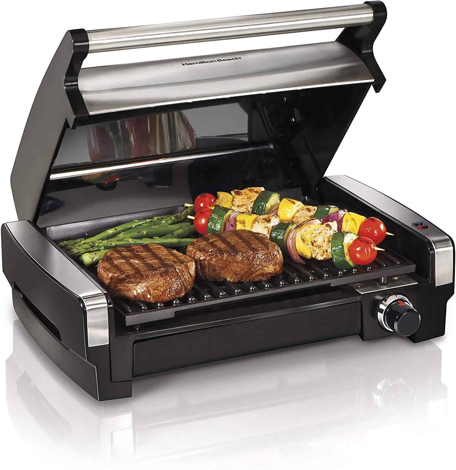 hamilton beach electric indoor grill one of the best tabletop grills