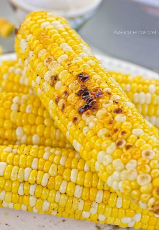 perfect grilled corn on the cob