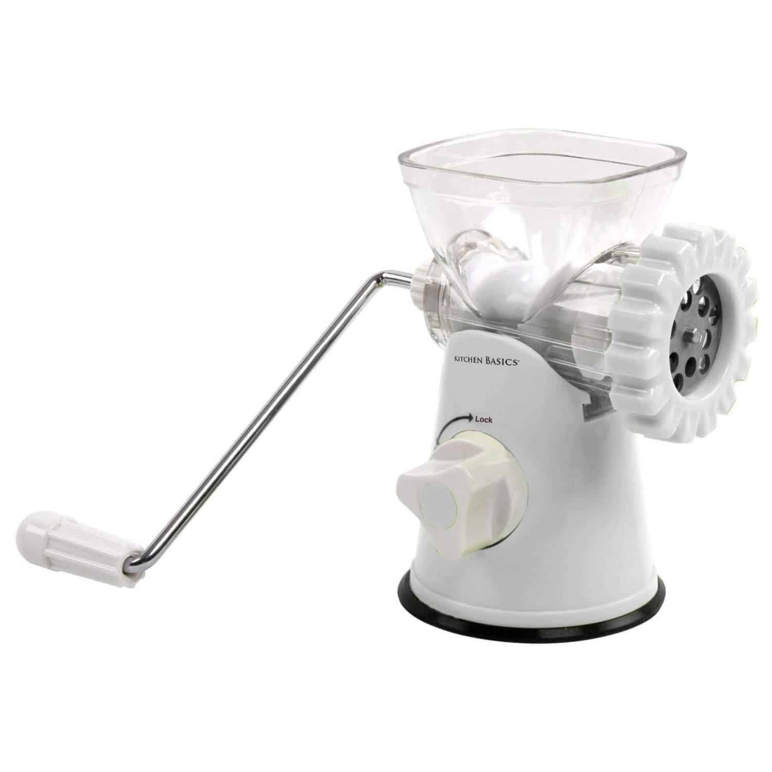 Kitchen Basics 3 N 1 Manual Meat and Vegetable Grinder Mincer