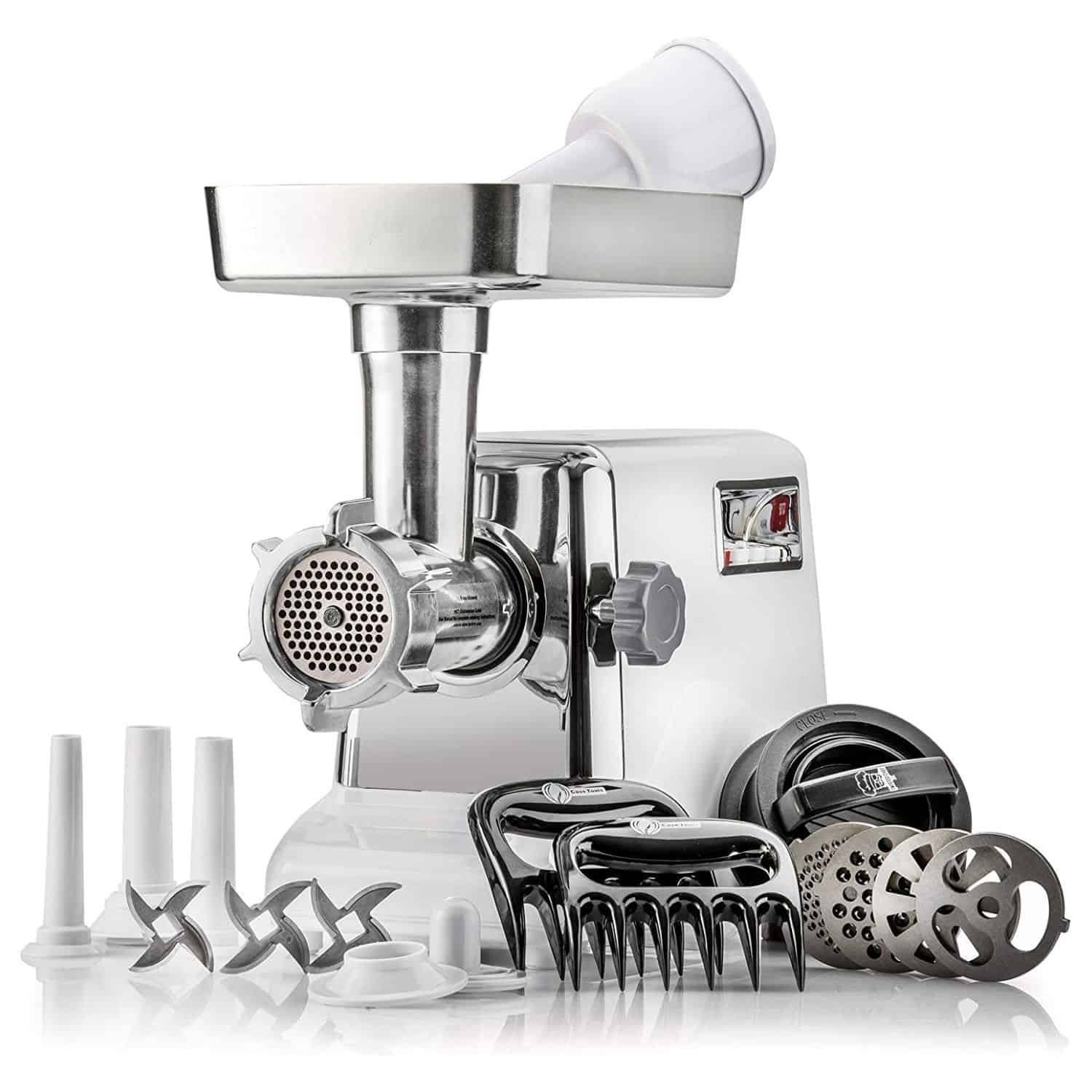 STX Turboforce Classic 3000 Series Electric Meat Grinder & Sausage Stuffer