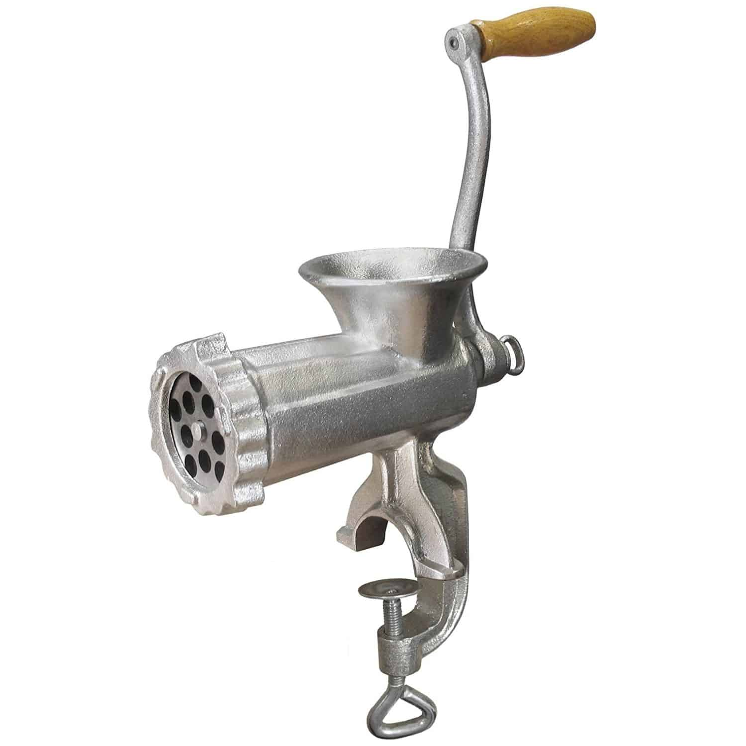 Weston #10 Manual Tinned Meat Grinder & Sausage Stuffer
