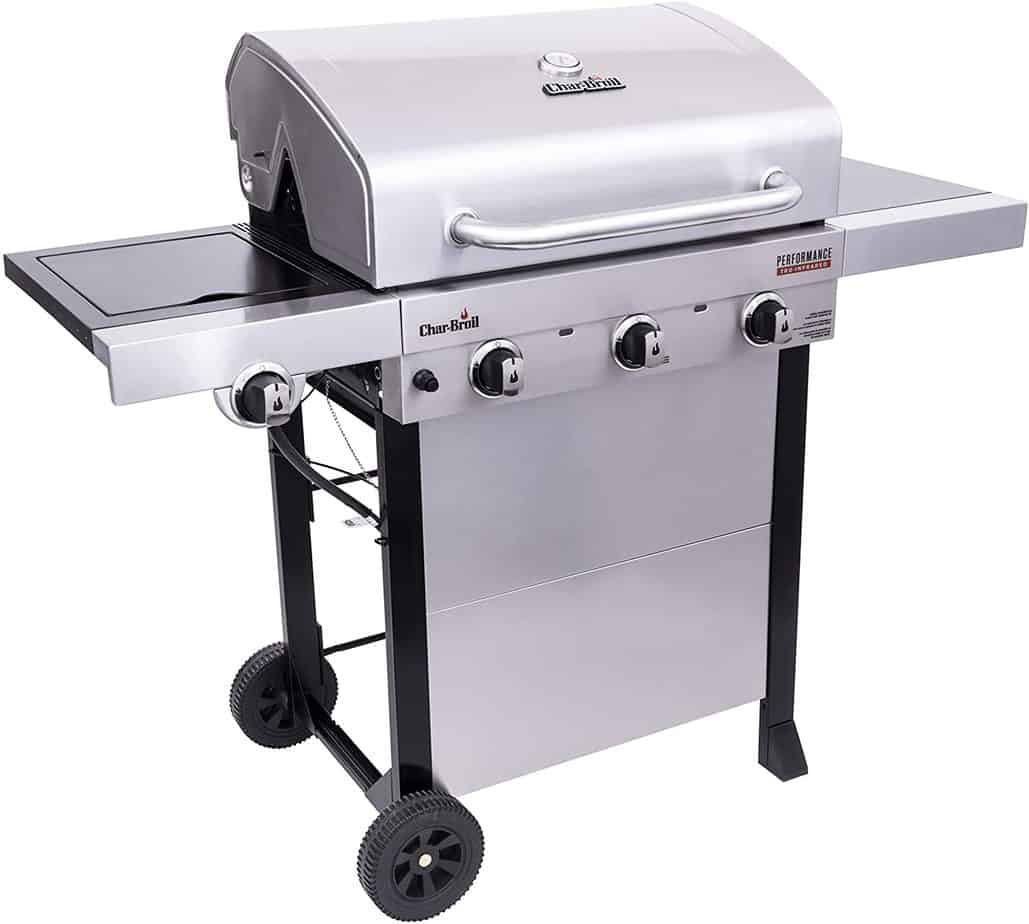 Char-Broil 463370719 Performance TRU-Infrared 3-Burner Gas Grill