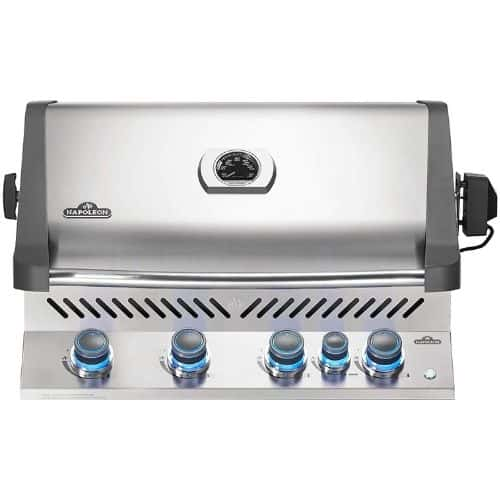 Napoleon BIP500RBNSS-3 Built-in Prestige 500 RB Natural Gas Grill