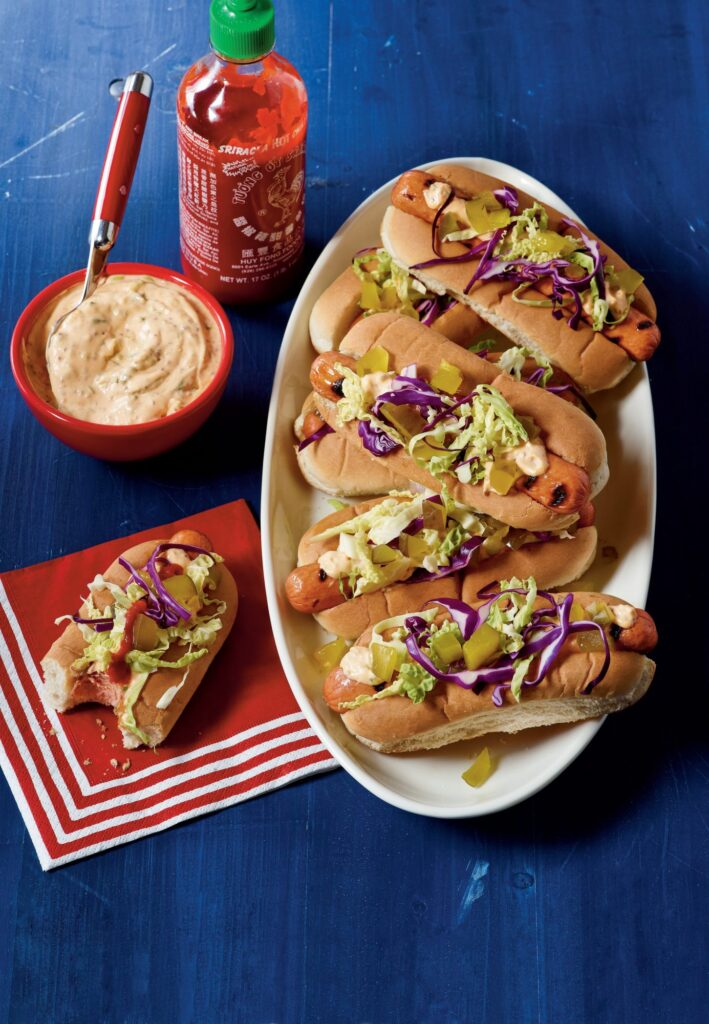 Hot Dogs Tailgate Food